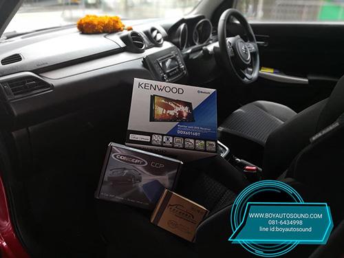 KENWOOD มารัวๆๆ รถใหม่ป้ายแดงก้อยังติดใจ KENWOOD DDX6016BT CONCEPT ARES MIRRORING 1