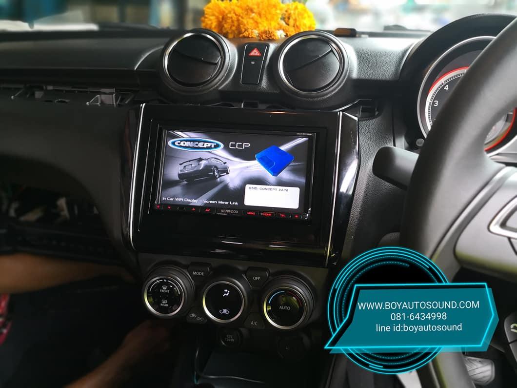 KENWOOD มารัวๆๆ รถใหม่ป้ายแดงก้อยังติดใจ KENWOOD DDX6016BT CONCEPT ARES MIRRORING 3