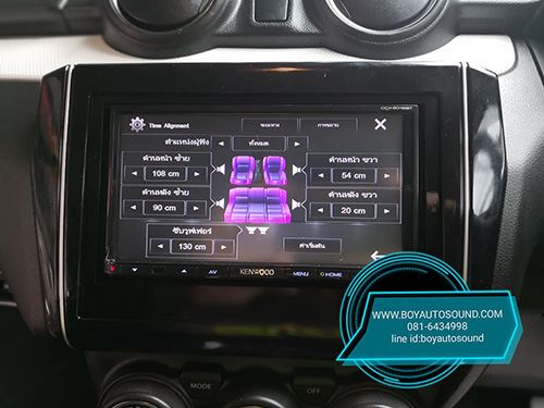 KENWOOD มารัวๆๆ รถใหม่ป้ายแดงก้อยังติดใจ KENWOOD DDX6016BT CONCEPT ARES MIRRORING 4