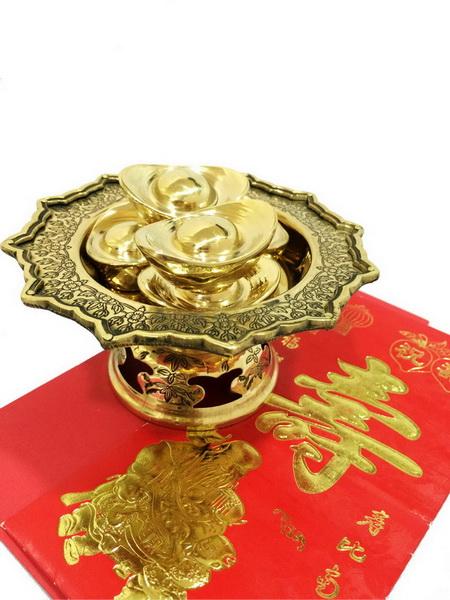 ชุดเงินจีน พร้อมพานโบราณ