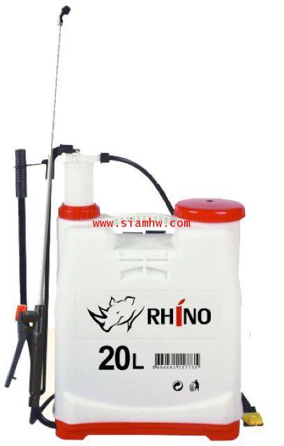 ถังโยกสะพายหลังพ่นยา ตราแรด RHINO 20ลิตร