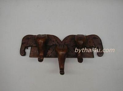 ที่แขวนเสื้อติดผนังรูปช้าง