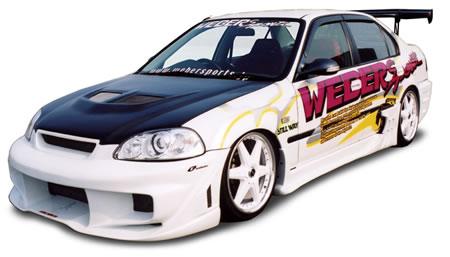 ชุดแต่งรอบคัน Civic 96-99 WEBER