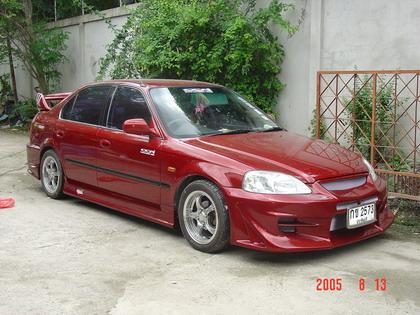 ชุดแต่งรอบคัน Civic 96-99  ADVAN