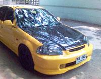 ชุดแต่งรอบคัน Civic 96-99 TYPE-R