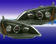 ไฟหน้า Projector Civic 01 โคมดำ
