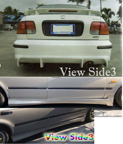 ชุดแต่งรอบคัน Honda Civic ทรง view-Side3