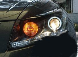 โคมไฟหน้า Projector Accord 2008-01 ทรง Audi
