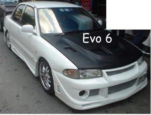 ชุดแต่งรอบคัน E-CAR ทรง EVO 6 TOM