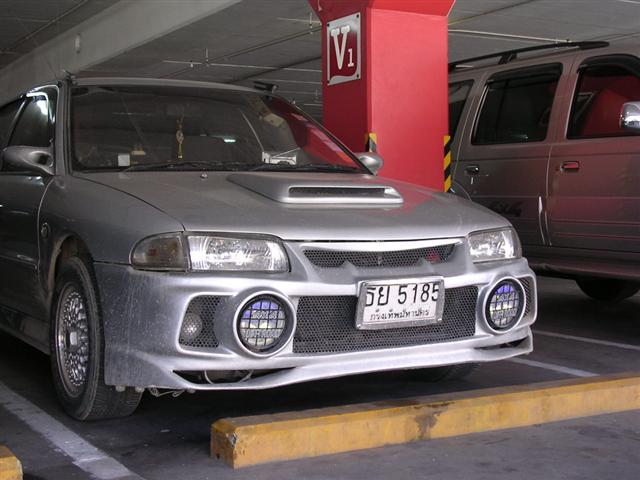 กันชนหน้า EVO4ใส่ E-CAR