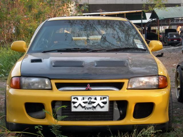 กันชนหน้าเต็มสำหรับ E-CAR ทรง EVO-2