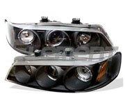 ไฟหน้าโปรเจคเตอร์ Honda ACCORD 94-97 โคมดำ วงแหวน (V2)