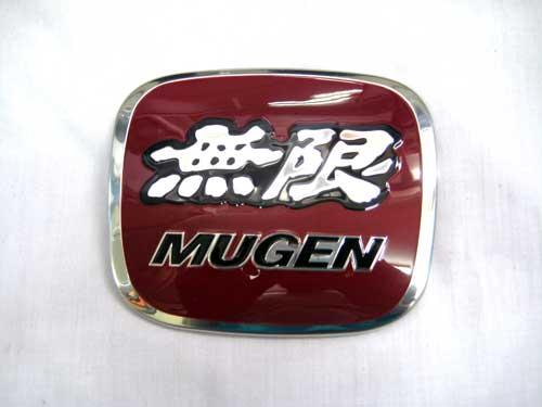 โลโก้หน้ากระจัง Mugen สีแดงสำหรับ Civic 2006,City2009,Crv2007