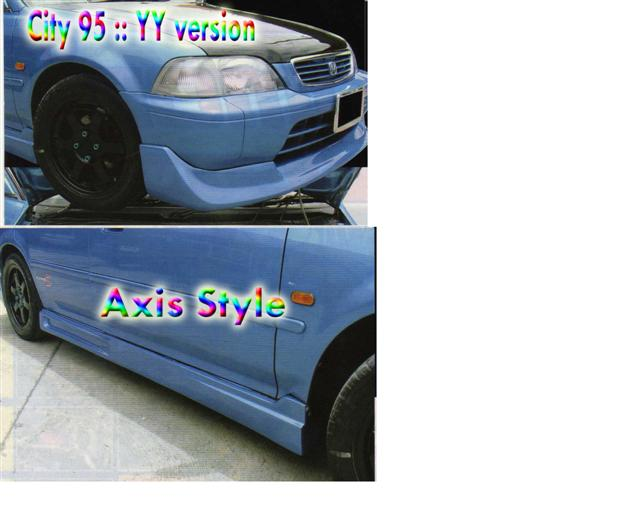 ชุดแต่งรอบคัน City 95-97 (Axis)