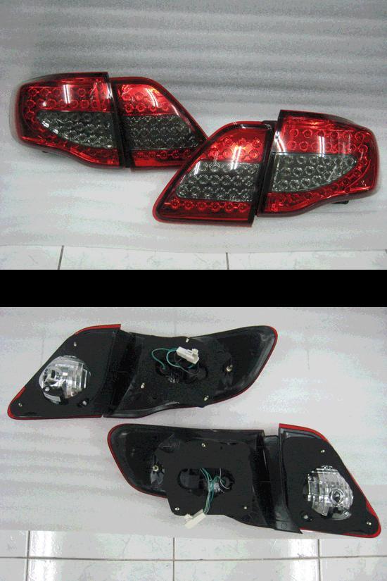 ไฟท้ายโคมดำ LED.สำหรับ Altis 2008