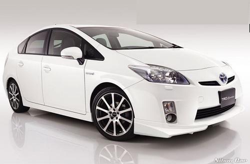 ลิ้นต่อกันชนหน้า ทรง TRD (japan) สำหรับ Prius