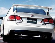 สปอยเลอร์ Mugen Type R Civic 06 FD (GT)