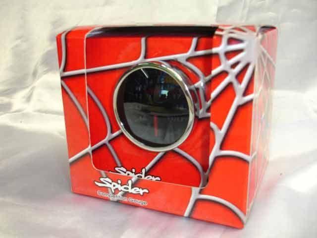 เกจ์Volt Spider 60.0mm. (SMOKE)หน้ามืด Xenon