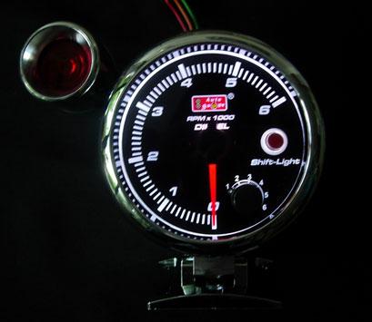 เกจ์วัดรอบ Auto Gauge 3.5 นิ้ว (ดีเซล)