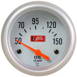 Auto Gauge Oil Temp Meter 2\'\'