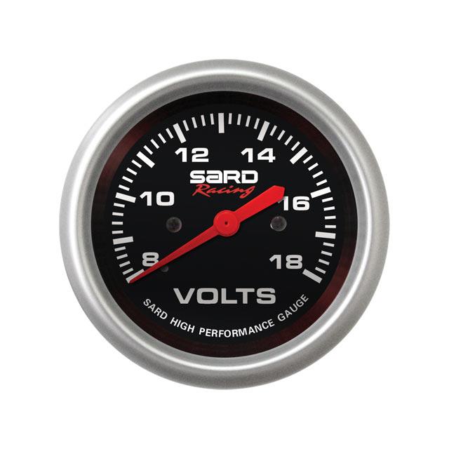 เกจ์ SARD วัด Volt หน้าดำ