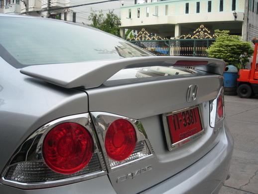 สปอยเลอร์มีไฟ Civic 06 Modulo