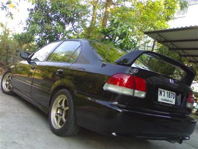 สปอยเลอร์ Civic ตาโต 96-99 ทรง  SIR