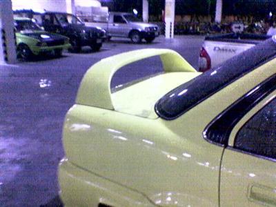 สปอยเลอร์ Honda Civic ตาโตTYPE-R