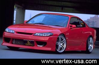 ชุดแต่งรอบคัน Silvia S15 ทรง Vertex