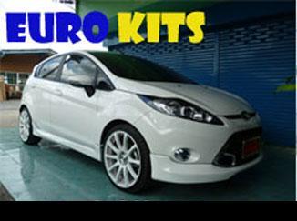 ชุดแต่งรอบคัน Fiesta 5 ประตู ทรง Euro kits
