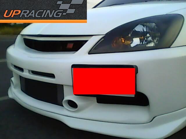 กันชนหน้า New Lancer ก็อบแท้  Evo 9 Plastic ABS Grade A