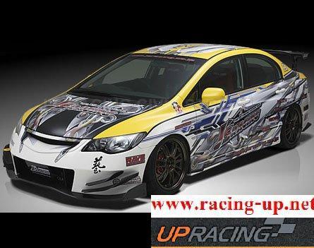 ชุดแต่งรอบคัน Civic 08-11 JS Racing Type Racing