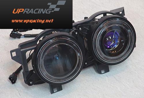 ไฟหน้าโปรเจคเตอร์โคมดำ E30