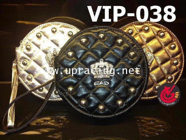 กระเป๋าใส่CD VIP DAD_Crown_เงิน