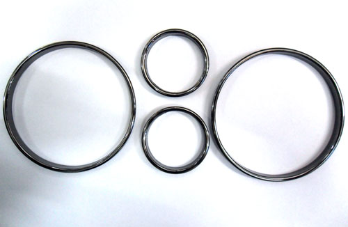 วงแหวนครอบไมล์ E39 Black Chrome Color