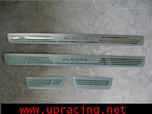 กาบบันได Almera โลโก้ Almera