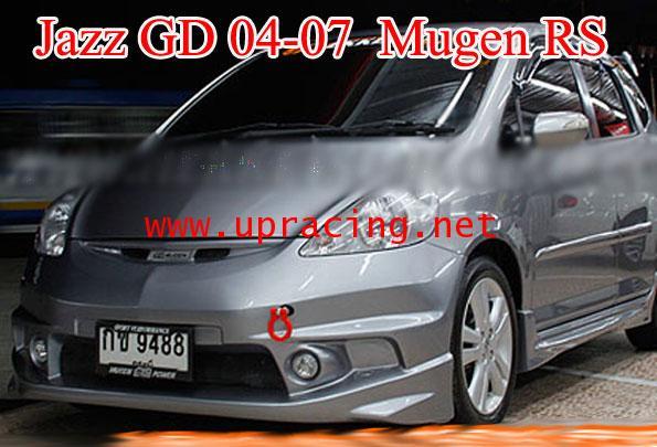 ชุดแต่งรอบคัน Jazz GD 03-07 ทรง Mugen RS2008