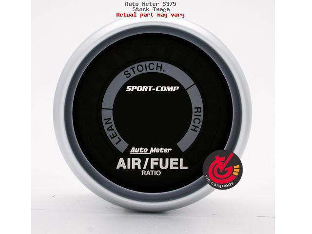 เกจ์Air-Fuel Ratio AUTO-METER 2.0_นิ้ว Sport-Comp_ดำ