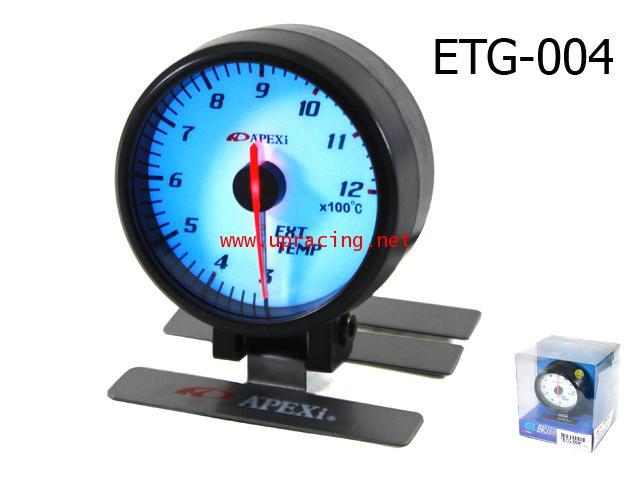 เกจ์Exhaust-Gas-Temp Apexi_II_EL_ขาว 60.0mm