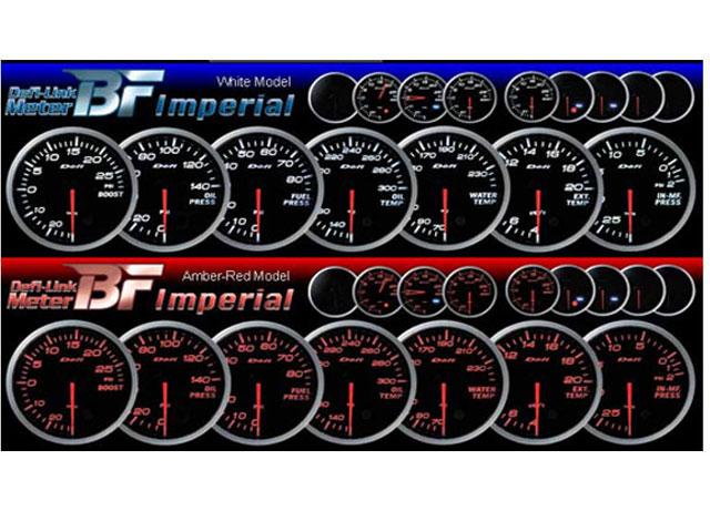 เกจ์Exhaust-Gas-Temp defi_II BF 2สี_ขาว-แดง 60.0mm