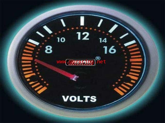 เกจ์Volt Prosport Smoke 2.5_นิ้ว-90