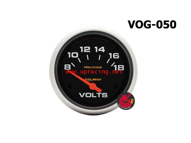 เกจ์Volt AUTO-METER 2.5_นิ้ว Pro-comp_ดำ