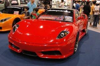 ชุดแต่งรอบคัน GTO  ทรง  Ferrari   V2