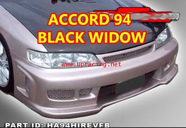กันชนหน้า Accord 96-97 ทรง Black Widow