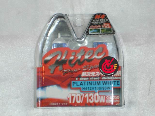 หลอดไฟ H4 Hitec ซีนอน 100/90w