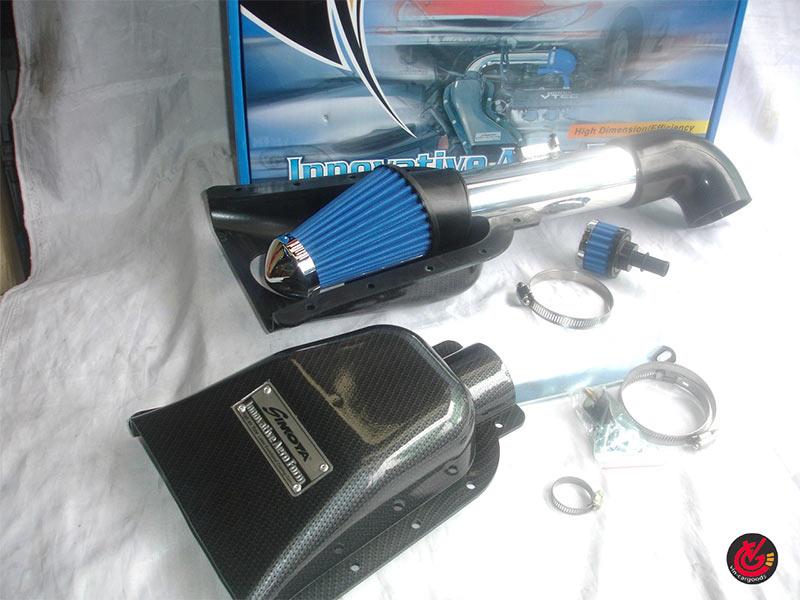 ชุดAIR POWER KIT (กรอง) Nissan Tiida_2006 คาร์บอน Simota PTS-002