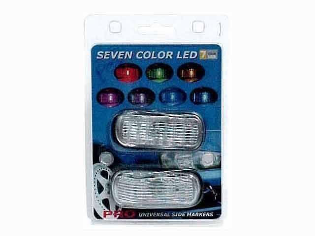ไฟแก้ม7สี เลนส์เพชร PP-32010