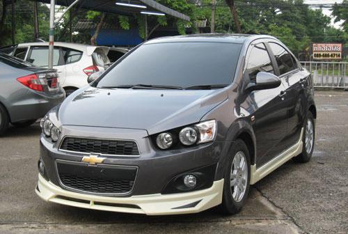 ชุดแต่งรอบคัน Chevrolet Sonic 4D ทรง  NTS1