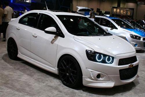 ชุดแต่งรอบคัน Chevrolet Sonic 4D ทรง Euro