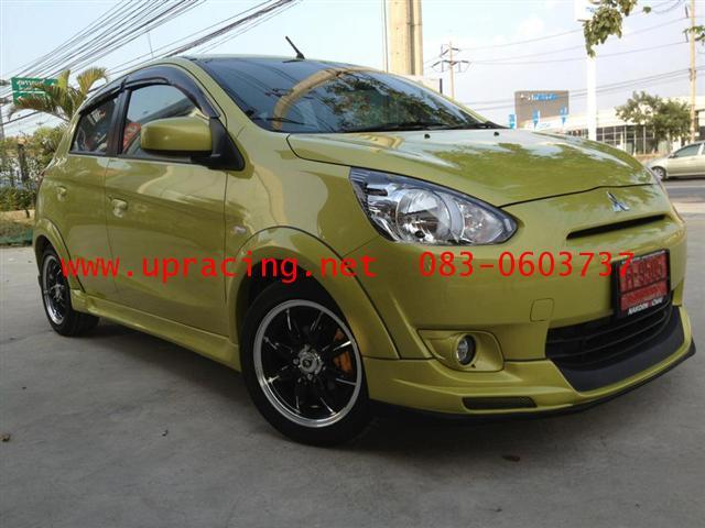 ชุดแต่ง Mirage ทรง Evo Sport Limited Full Option พร้อมสี